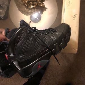Air Jordan's 9